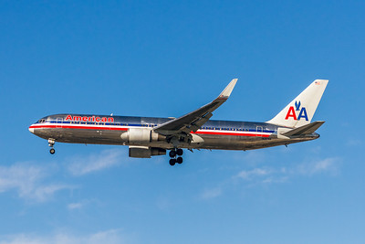 American Airlines, N353AA, Boeing 767-323(ER), msn 24034, Photo by John A Miller, LAX, Image PP055LAJM