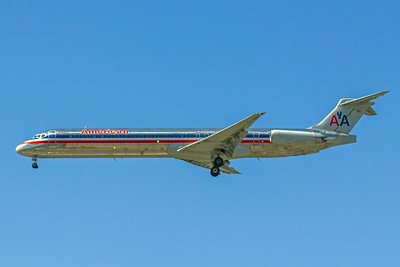 American Airlines, N963TW, McDonnell Douglas MD-83, msn 53613, Photo by John A Miller, LAX, Image D065LAJM