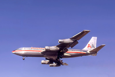 American Airlines, N7528A, Boeing 720-023B, msn 18014, Photo by Steve Pinnow Collection, Image H020LASP