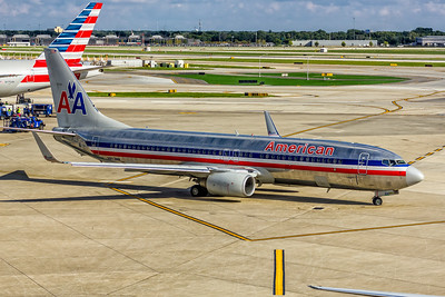 American Airlines, N853NN, Boeing 737-823(WL), msn 31105, Photo by John A Miller, ORD, Image UU082RGJM