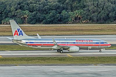 American Airlines, N887NN, Boeing 737-823(WL), msn 31141, Photo by John A Miller, TPA, Image UU065RGJM