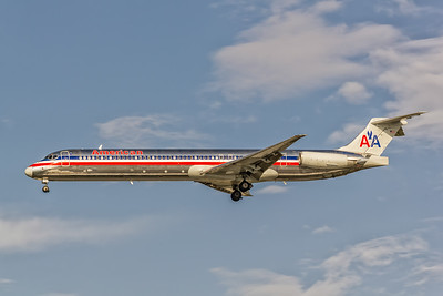 American Airlines, N110HM, McDonnell Douglas MD-83, msn 49797, Photo by John A MIller, TPA, Image D077LAJM