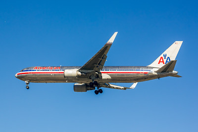 American Airlines, N361AA, Boeing 767-323(ER)(WL), msn 24042, Photo by John A Miller, LAX, Image P054LAJM