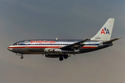 American Airlines, N469AC, Boeing 737-293, msn 20335, Photo by J. Fernandez Collection, Image J183LAJF