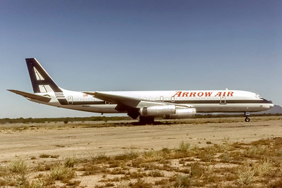 Arrow Air, N8968U, Douglas DC8-62H(F), msn 46069, Photo by Eddy Gual Collection, Image B035RGEG