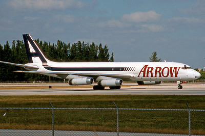 Arrow Air, N791AL, Douglas DC-8-62AF, msn 46150, Photo by Brian Peters, Image B022RGBP