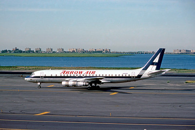Arrow Air, N4809E, Douglas DC-8-55(F), msn 45762, Photo by Doug Corrigan, Image B029LGDC