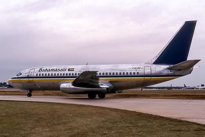 Bahamasair, C6-BFJ, Boeing 737-201, msn 20211, Photo by John A Miller, GSO, Image J083LGJM