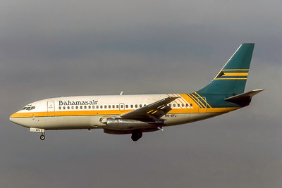 Bahamasair, C6-BFJ, Boeing 737-201, msn 20211, Photo by Joe Fernandez Collection, Image J180LAJF