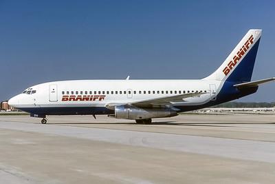 Braniff, N4511W, Boeing 737-247, msn 19608, Photo by Frank HInes, Image J156LGFH
