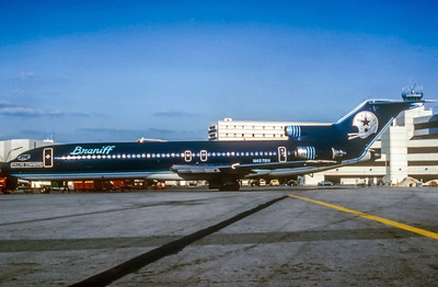 Braniff, N457BN, Boeing  727-227Adv,  msn 21463, Photo Enrichments Collection, Image I069LGJC