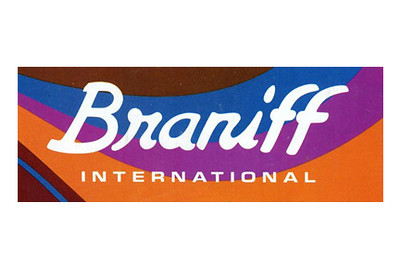 Braniff International Script Logo