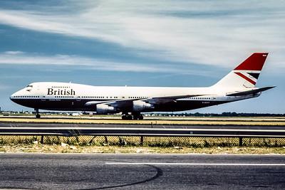 British Airways, G-AWND, Boeing 747-136, msn 19764, Photo by Frank Hines, JFK, Image M006LGFH