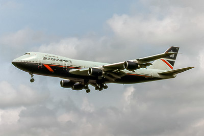 British Airways, G-BDXF, Boeing 747-236B, msn 21351, Photo by David Birtwell, Image M088LADB