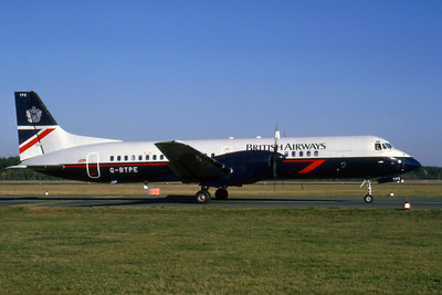 British Airways, G-BTPE, Bristish Aerospace ATP, msn 2012, Photo by Udo Schaefer, Image FF001RGUS
