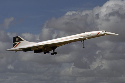 British Airways, G-BOAG, Bae Concorde 102, msn 214, Photo by Dean Slaybaugh, Image EE002RADS