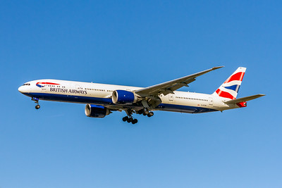 British Airways, G-STBF, Boeing 777-336(ER), msn 40543, Photo by John A Miller, LAX, Image PP041LAJM