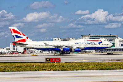 British Airways, G-BNLN, Boeing 747-436, msn 24056, Photo by John A Miller, MIA, Image M094RGJM