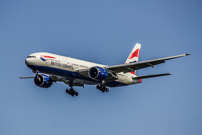 British Airways, G-VIIU, Boeing 777-236(ER), msn 29963, Photo by John A. Miller, Image PP014LAJM