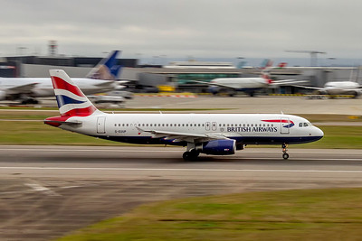 British Airways, G-EUUP, Airbus A320-232, msn 2038, Photo by John A Miller, LHR, Image T155RGJM