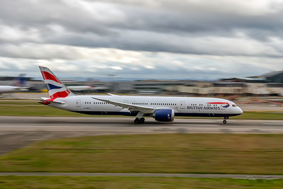 British Airways, G-ZBKH, Boeing 787-9 Dreamliner, msn 38624, Photo by John A Miller, LHR, Image PA011RGJM