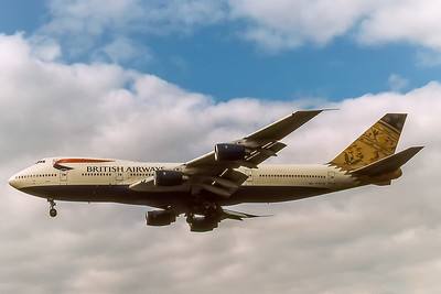 British Airways, G-BDXO, Boeing 747-236B, msn 23799, Photo by Photo Enrichments Collection, Image M090LAJC