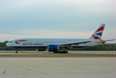 British Airways, G-VIIO, Boeing 777-236(ER), msn 29320, Photo by John A. Miller, TPA, Image PP013LGJM