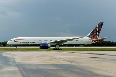 British Airways, G-VIIR, Boeing 777-236(ER), msn 29322, Photo by John A Miller, TPA, Image PP005LGJM