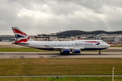 British Airways, G-CIVV, Boeing 747-436, msn 25819, Photo by John A Miller, LHR, Image M091RGJM