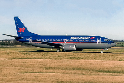 British Midland, G-ECAS, Boeing 737-36N, msn 28554, Photo by Photo Enrichments Collection, Image K136RGJC