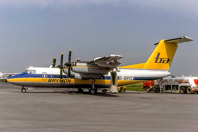 Brymon Airways, G-BRYC, DeHavilland DHC-7-110 Dash 7, msn 54, Photo by Photo Enrichments Collection, Image QQ017LGJC