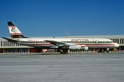 Capitol Air, N905CL, Douglas DC-8-31, msn 4527, Photo by Photo Enrichments Collection, Image B004RGJC