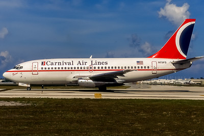 Carnival Air Lines, N73FS, Boeing 737-205(ADV), msn 21765, Photo by Photo Enrichments Collection, Image J125LGJC