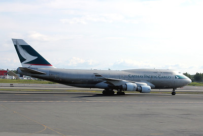 Cathay Pacific Cargo, B-HKJ, Boeing 747-412(BCF), msn 27133, Photo by John A. Miller, ANC, Image M079RGJM