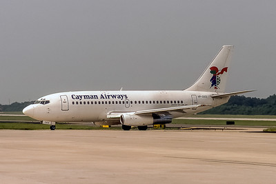 Cayman Airways, VP-CKX, Boeing 737-236(ADV), msn 23162, Photo by John A Miller, TPA, Image J120LGJM