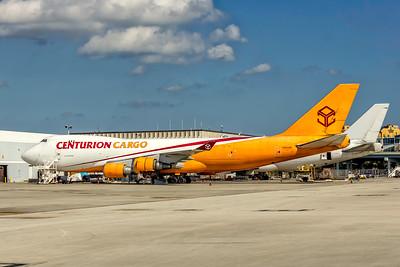 Centurion Cargo, N904AR, Boeing 747-428(ER), msn 33097, Photo by John A Miller, MIA, Image M095LGJM