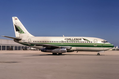 Challenge Air International, N501AV, Boeing 737-247, msn 20128, Photo by Keith Armes,  MIA, Image J140RGKA