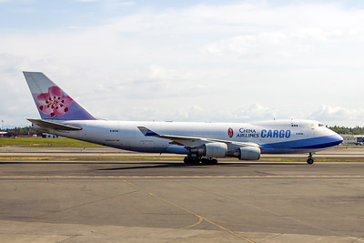 China Airlines Cargo, B-18702, Boeing 747-409SF(SDC), Photo by John A. Miller, ANC, Image M080RGJM