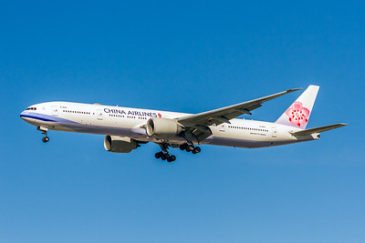 China Airlines, B-18051, Boeing 777-36N(ER), msn 41821, Photo by John A Miller, LAX, Image PP039LAJM