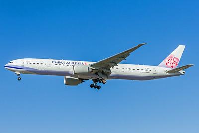 China Airlines, B18002, Boeing 777-309(ER), msn 43990, Photo by John A Miller, LAX, Image PP024LAJM