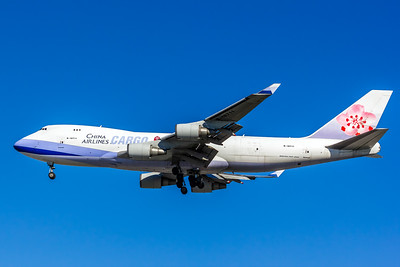 China Airlines Cargo, B-18711, Boeing 747-409F, msn 30768, Photo by John A Miller, LAX, Image M087LAJM