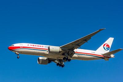 China Cargo, B-2079, Boeing 777-F6N, msn 37715, Photo by John A Miller, LAX, Image PP038LAJM