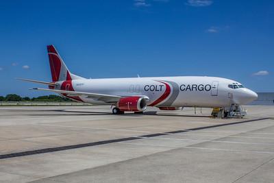 Colt Cargo Airlines, N526TP, Boeing 737-4B6, msn 26526, Photo by John A. Miller, TPA, Image L023RGJM