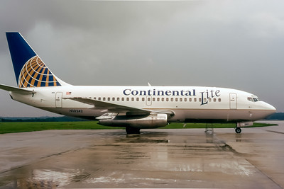 Continental Lite Airlines, N10242, Boeing 737-2C0, msn 20071, Photo by John A Miller, GSO, Image J062RGJM