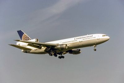 Continental Airlines, N17085, McDonnell Douglas DC-10-30, msn 47957, Photo by Photo Enrichments Collection, Image U044RAJC