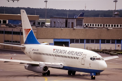 Croatia Airlines, 9A-CTC, Boeing 737-230(ADV), msn 22118, Photo by Doug Corrigan, Image J093RGDG