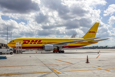 DHL (ABX Air), N792AX, Boeing 767-281(BDSF), msn 23142, Photo by John A Miller, MIA, Image P064LGJM