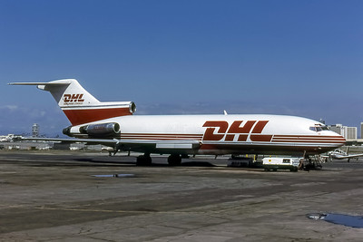 DHL, N238DH, Boeing 727-25, msn 18275, Photo by Frank Hines, Image I195RGFH