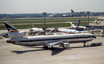 Delta Air Lines, N803DE, McDonnell Douglas MD-11, msn 48474, Photo by Photo Enrichments Collection, Image II09RGDG