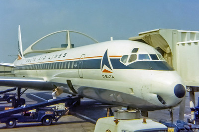 Delta Air Lines, Douglas DC-8, Photo by John Casperson, LAX, Image B034RAJN